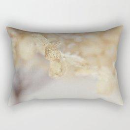 winter hydrangea Rectangular Pillow