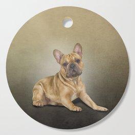Drawing dog French Bulldog Cutting Board