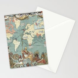 The British Empire 1886 Stationery Cards