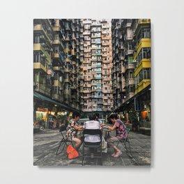 Mahjong - Hong Kong Series Metal Print