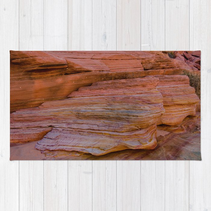 Colorful Sandstone, Valley of Fire - IIa Rug