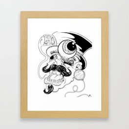 EGADS MAN! Framed Art Print