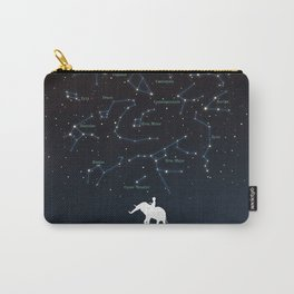 Falling star constellation Carry-All Pouch