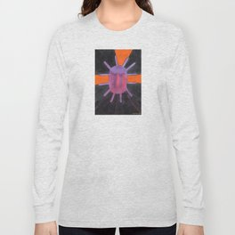 Purple Projector Long Sleeve T-shirt