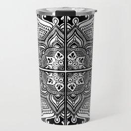 Mandala Fleur Travel Mug