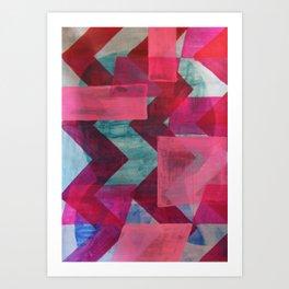 geo2 Art Print