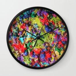 3d Drippage Wall Clock