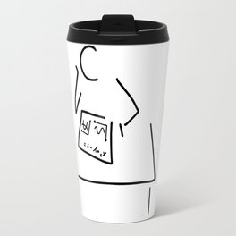 mathematician physicist scientist Travel Mug