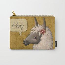 Bohemian Llama Carry-All Pouch