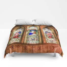Stained Glass Windows Comforters