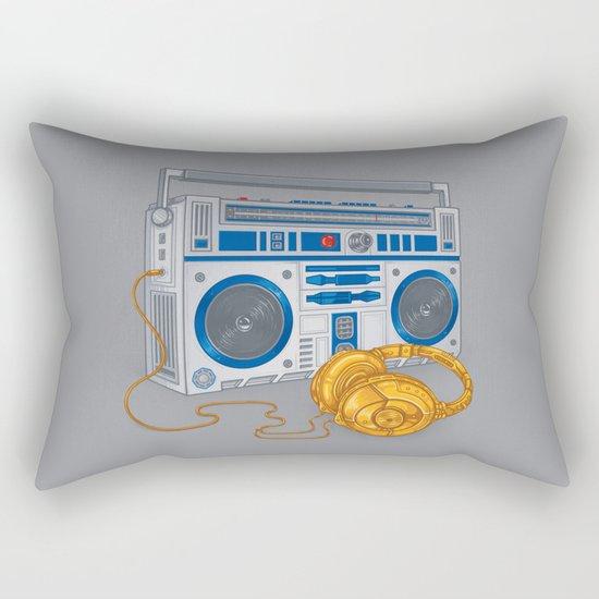 Recycled Future Rectangular Pillow