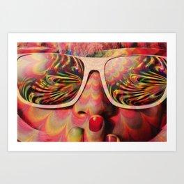 Rainbow Lenses Art Print