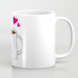 Coffee and Doughnut Pair - Right Coffee Mug