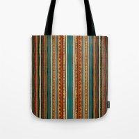 tribal Tote Bags featuring Tribal by Klara Acel