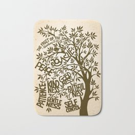 Fruit of the Spirit (Monotone) Bath Mat