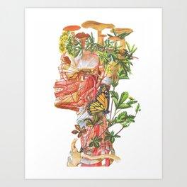 Mushroom Man Art Print