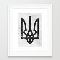 ukraine Framed Art Prints featuring Ukraine by Sitchko Igor