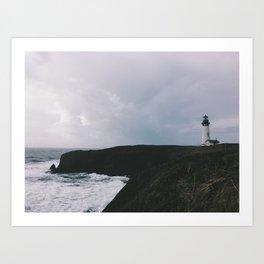 Yaquina Lighthouse Art Print