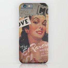 El Coro Rancho Amor iPhone Case