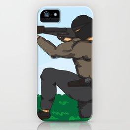 Sniper Paint iPhone Case