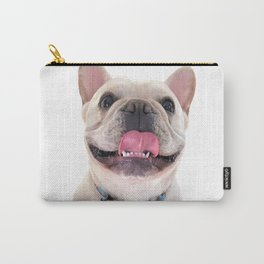 Dapper Frenchie Carry-All Pouch