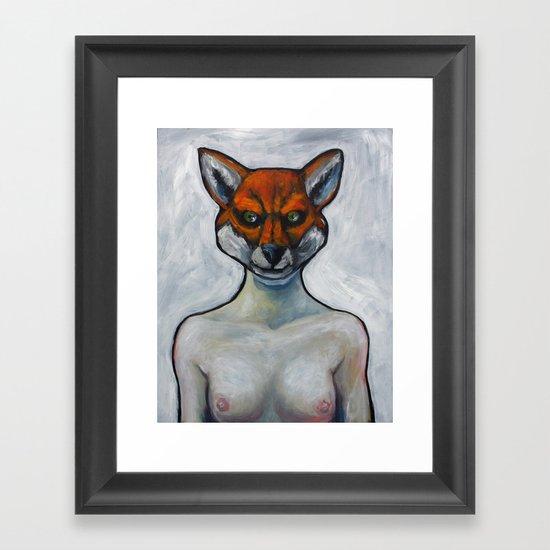 Le Renard Framed Art Print
