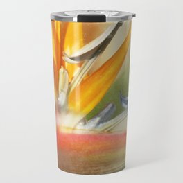 Bird of Paradise - Strelitzea reginae - Tropical Flowers of Hawaii Travel Mug