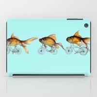 fish iPad Cases featuring fish by Кaterina Кalinich