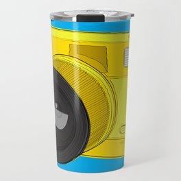 Fisheye Camera Travel Mug