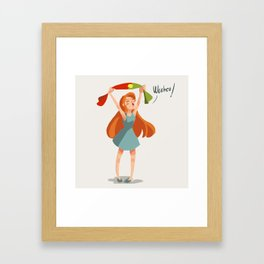 Go portugal Framed Art Print