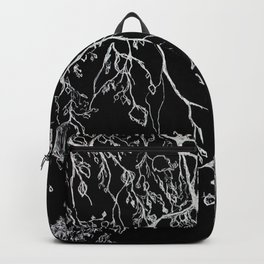 Birch. tree leaves. nature, graphic art Backpack