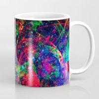 big bang Mugs featuring Big Bang by haroulita