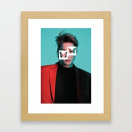 Sophisticated Slips | Kai Framed Art Print