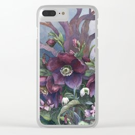 Woodland I Clear iPhone Case