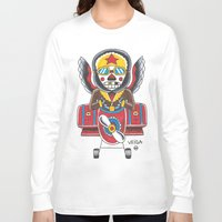 airplane Long Sleeve T-shirts featuring Airplane by @VEIGATATTOOER