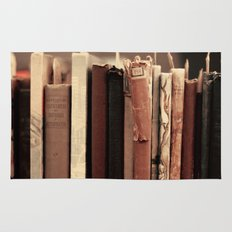 Old Books (brown) Rug