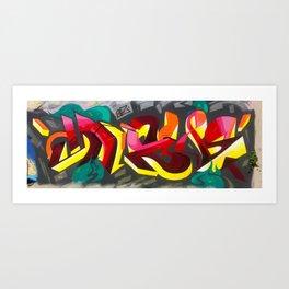 Graff3-2015 Art Print