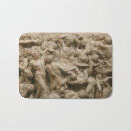 "Michelangelo ""Battle of the Centaurs"" Bath Mat"