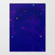 George Jackson Canvas Print