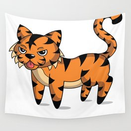 Tamale the Tiger Wall Tapestry