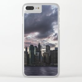 NYC 10 Clear iPhone Case