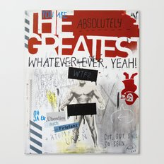 Greatest Whatever Canvas Print