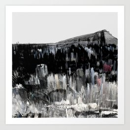 Tokyo in the Ice Age no. 24 Art Print