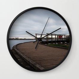 Chasewater Boardwalk Wall Clock