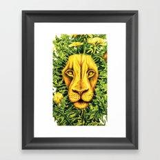 Dandylion ZOOM Framed Art Print