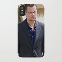 inception iPhone & iPod Cases featuring Inception - Cobb by Mel Hampson