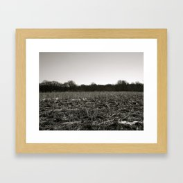 Empty Space in Kalamazoo, MI Framed Art Print