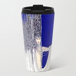 """North Sea"" Art Deco Design by Erté Travel Mug"