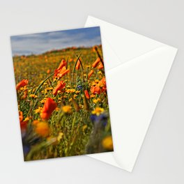 Color the fields of Lancaster California Stationery Cards