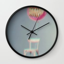Balloon Dentures Wall Clock